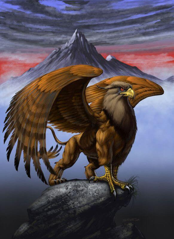 griffon mythologie