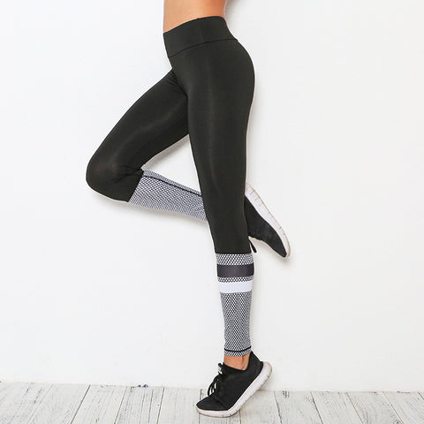 Net yarn Sporting Pants Workout
