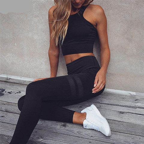 Two Piece Set Sexy Set Sport BH + Leggings