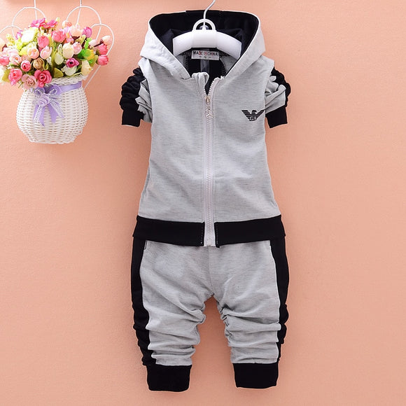 Fashion Hooded Sweatshirts and Pant Set