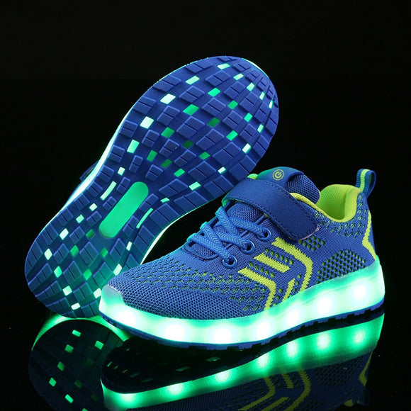 Glowing Sneakers