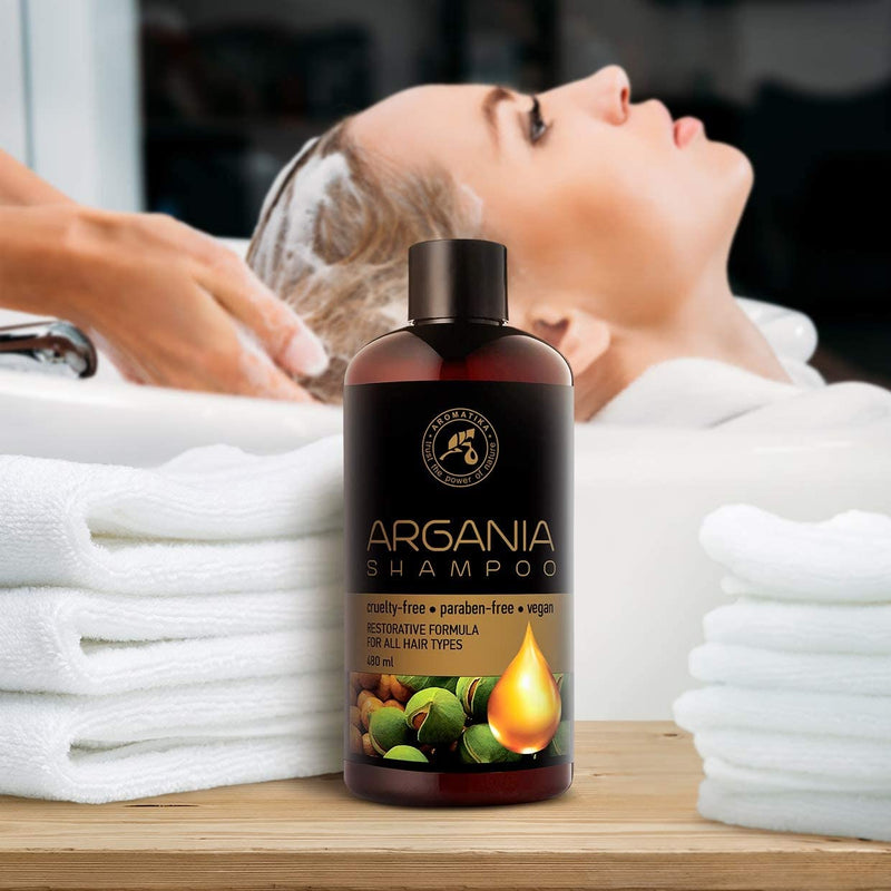 Argan Oil Shampoo for woman Shampoos Aromatika