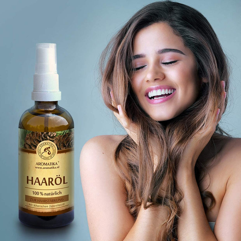 Hair strengthening cosmetic oil
