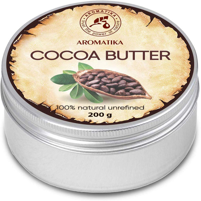 Cocoa butter unrefined Body butters Aromatika