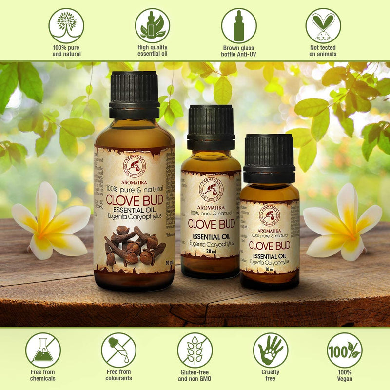 Clove bud oil Essential oils Aromatika