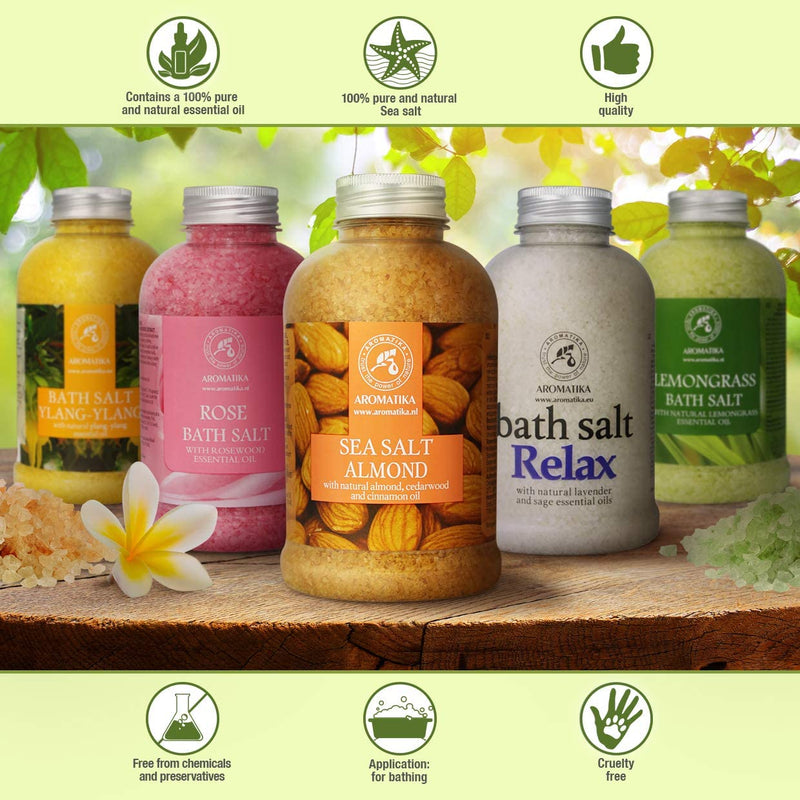 Bath salt Almond Bath salts Aromatika