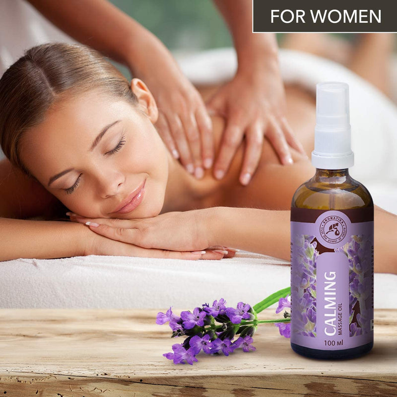 Calming massage oil Massage oils Aromatika