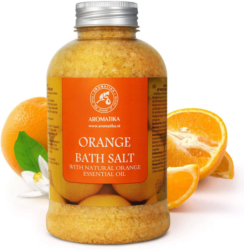 Bath salt Orange