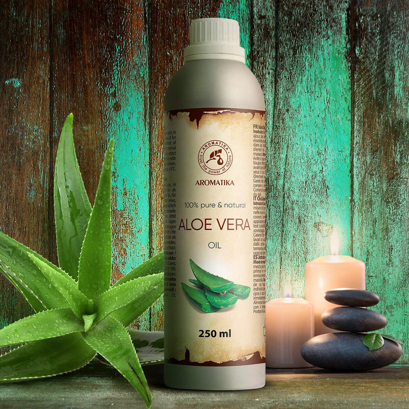 Aloe vera oil Carrier oils Aromatika