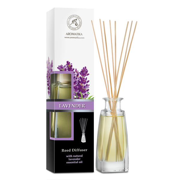Reed diffuser lavender Reed diffusers Aromatika