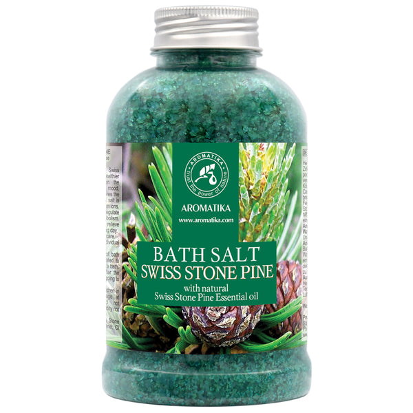 Bath Salt Swiss Stone Pine Bath salts Aromatika