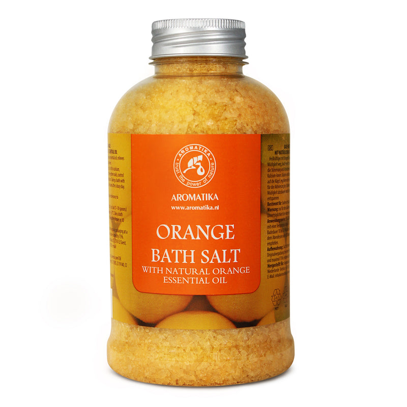 Bath salt Orange Bath salts Aromatika