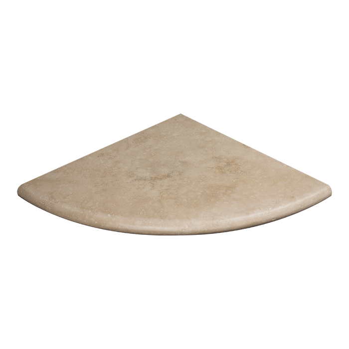 "10"" Ivory Travertine Corner Shelf Honed / 10"" - DW TILE & STONE - Atlanta Marble Natural Stone Wholesale Stone Supplier"