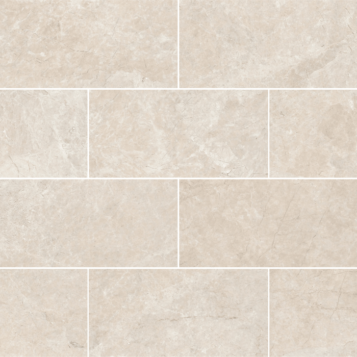 "Assos Beige Marble Floor and Wall Tile Polished / 12"" x 24"" - DW TILE & STONE - Atlanta Marble Natural Stone Wholesale Stone Supplier"