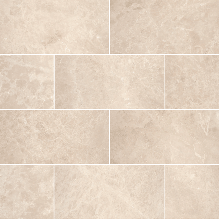 "Crema Nova Marble Floor and Wall Tile Honed / 12"" x 24"" - DW TILE & STONE - Atlanta Marble Natural Stone Wholesale Stone Supplier"