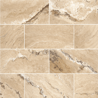 "Leonardo Travertine Floor and Wall Tiles Honed / 12"" x 24"" - DW TILE & STONE - Atlanta Marble Natural Stone Wholesale Stone Supplier"