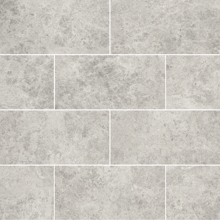 "Silver Shadow Marble Floor and Wall Tile Honed / 12"" x 24"" - DW TILE & STONE - Atlanta Marble Natural Stone Wholesale Stone Supplier"