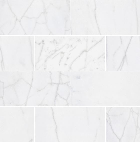 "Bianco Perla Marble Floor and Wall Tile Honed / 12"" x 24"" - DW TILE & STONE - Atlanta Marble Natural Stone Wholesale Stone Supplier"