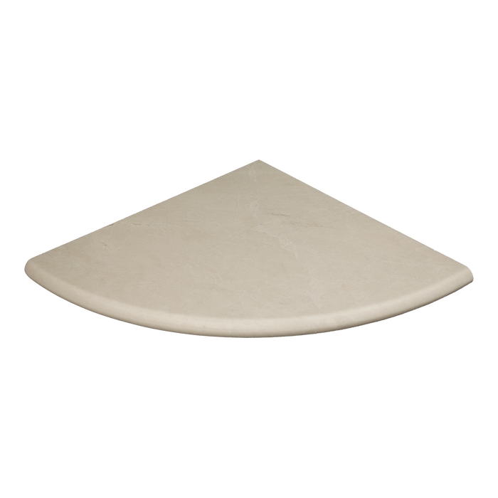 "18"" Crema Nova Marble Shower Seat Honed / 18"" - DW TILE & STONE - Atlanta Marble Natural Stone Wholesale Stone Supplier"