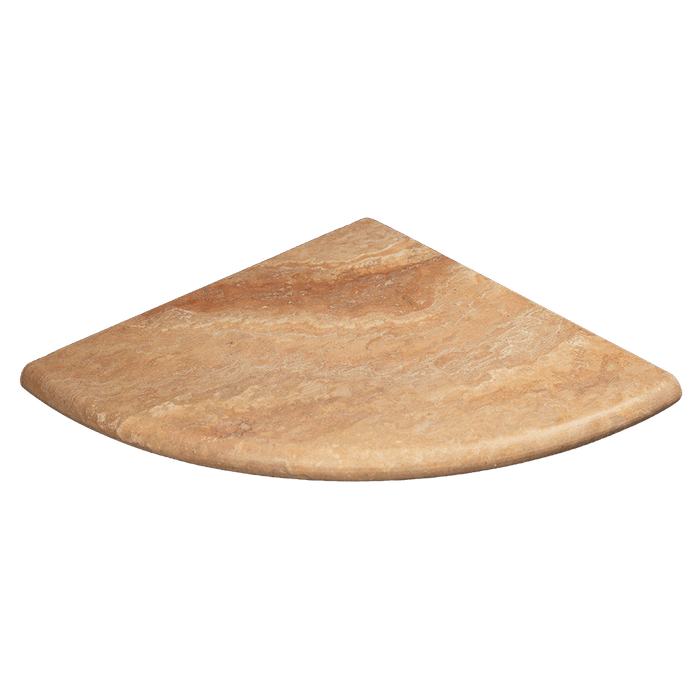 "10"" Scabos Travertine Corner Shelf Honed / 10"" - DW TILE & STONE - Atlanta Marble Natural Stone Wholesale Stone Supplier"