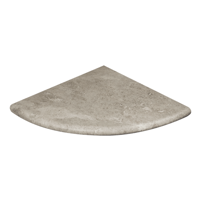 "Silver Shadow Marble Shower Seat Polished / 18"" - DW TILE & STONE - Atlanta Marble Natural Stone Wholesale Stone Supplier"