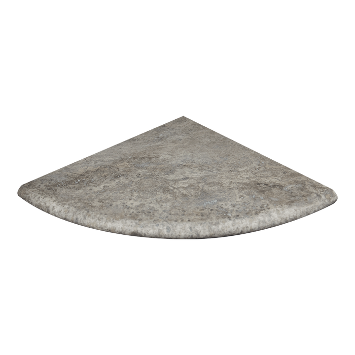 "18"" Silver Travertine Shower Seat Honed / 18"" - DW TILE & STONE - Atlanta Marble Natural Stone Wholesale Stone Supplier"