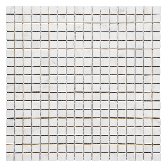 "5/8 x 5/8 Bianco Gioia Marble Mosaic Tile - Polished Polished / 5/8"" x 5/8"" - DW TILE & STONE - Atlanta Marble Natural Stone Wholesale Stone Supplier"