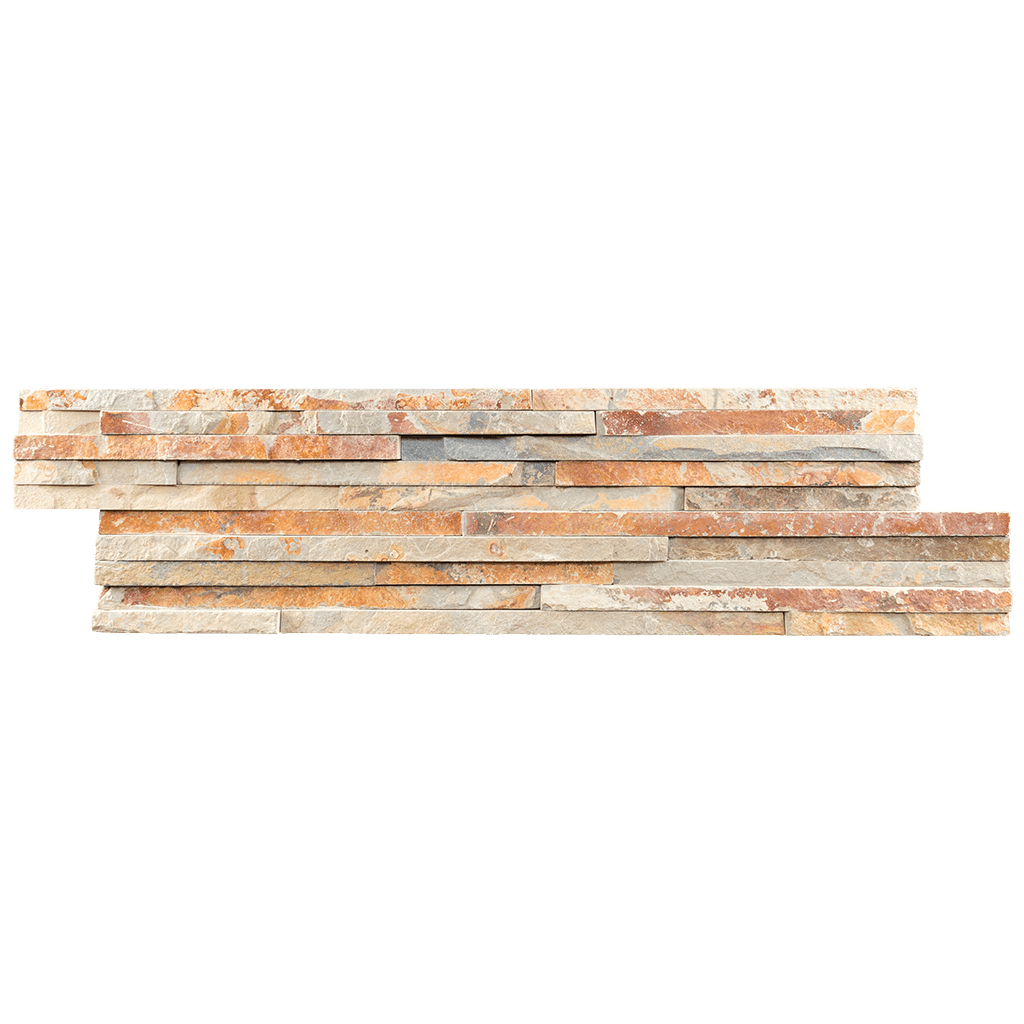 "Mini Utah Slate Ledger Stone Split Face / 6"" x 22"" - DW TILE & STONE - Atlanta Marble Natural Stone Wholesale Stone Supplier"
