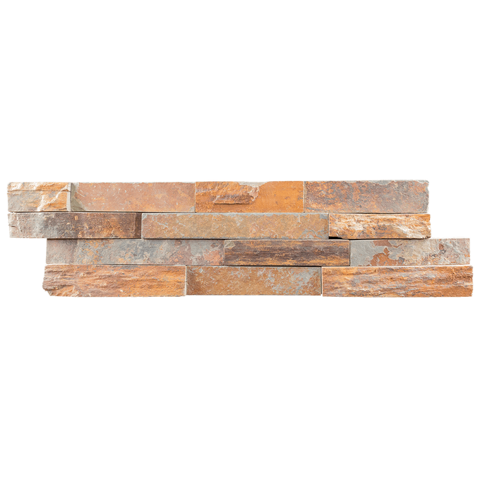 "Rough Edge Utah Slate Ledger Stone Split Face / 6"" x 22"" - DW TILE & STONE - Atlanta Marble Natural Stone Wholesale Stone Supplier"