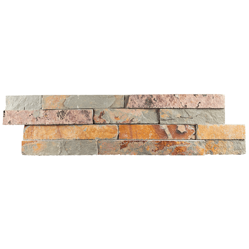 "Utah Slate Ledger Stone Split Face / 6"" x 22"" - DW TILE & STONE - Atlanta Marble Natural Stone Wholesale Stone Supplier"