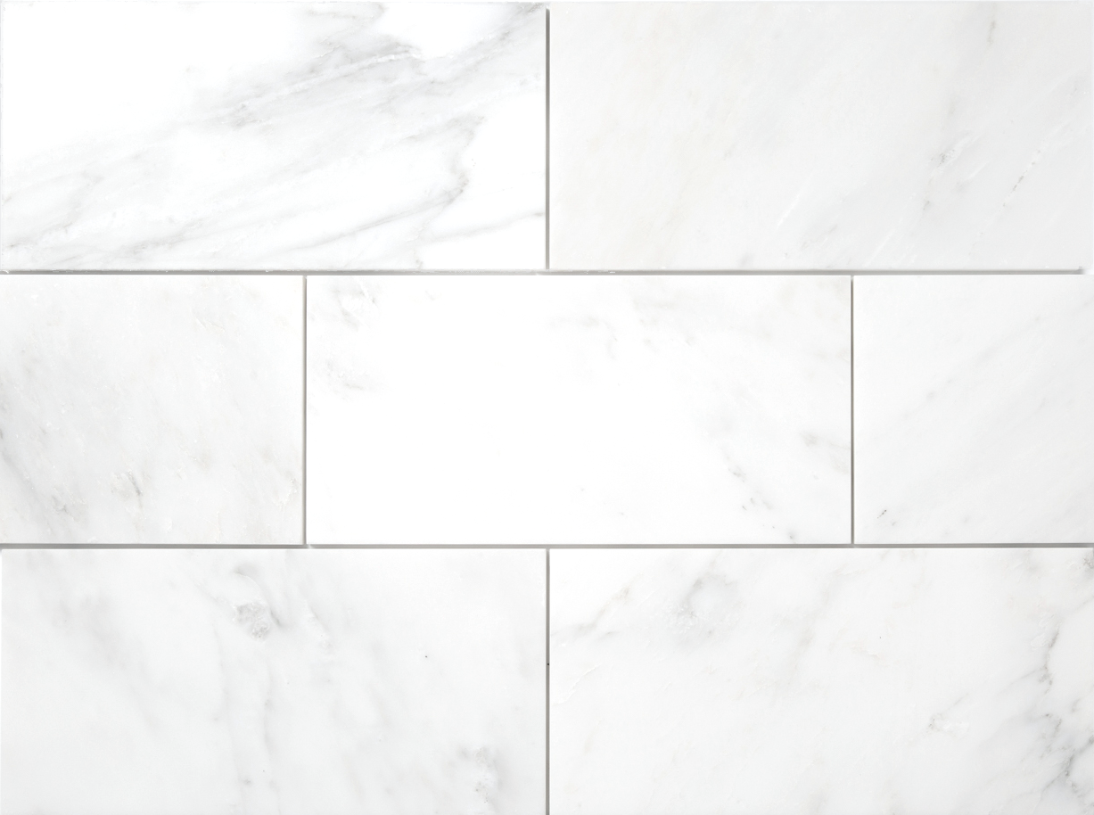 Bianco Bello Marble Premium Floor and Wall Tile  - DW TILE & STONE - Atlanta Marble Natural Stone Wholesale Stone Supplier
