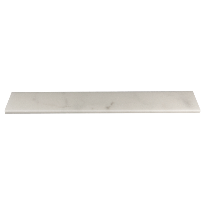 "Bianco Perla Marble Window Sill - Polished Polished / 36"" x 6"" x 3/4"" - DW TILE & STONE - Atlanta Marble Natural Stone Wholesale Stone Supplier"