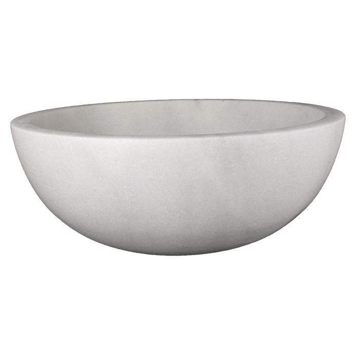 "Bianco Perla Sink Vessel 16"" Honed / 16"" - DW TILE & STONE - Atlanta Marble Natural Stone Wholesale Stone Supplier"