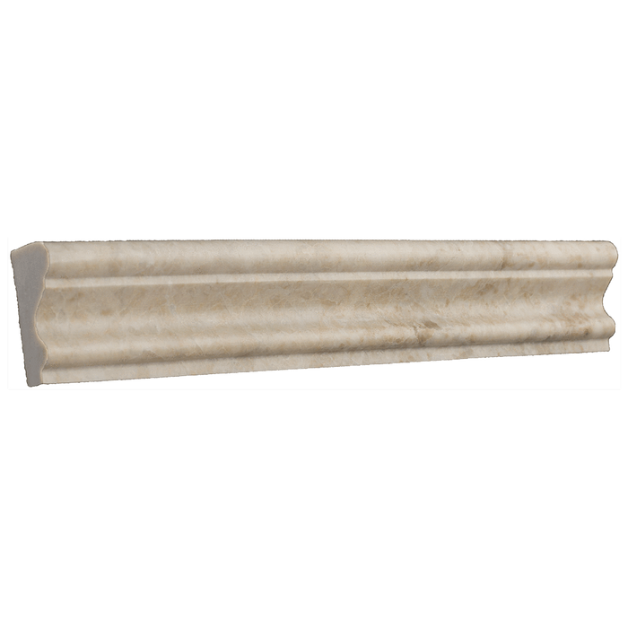 "Cappuccino Marble Crown - Polished (2"" x 12"" x 1"") Polished / 2"" x 12"" x 1"" - DW TILE & STONE - Atlanta Marble Natural Stone Wholesale Stone Supplier"