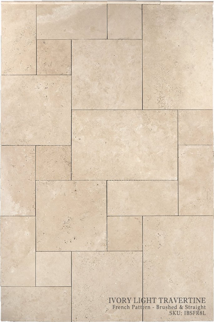Ivory Travertine Floor And Wall Tiles Dw Tile Stone