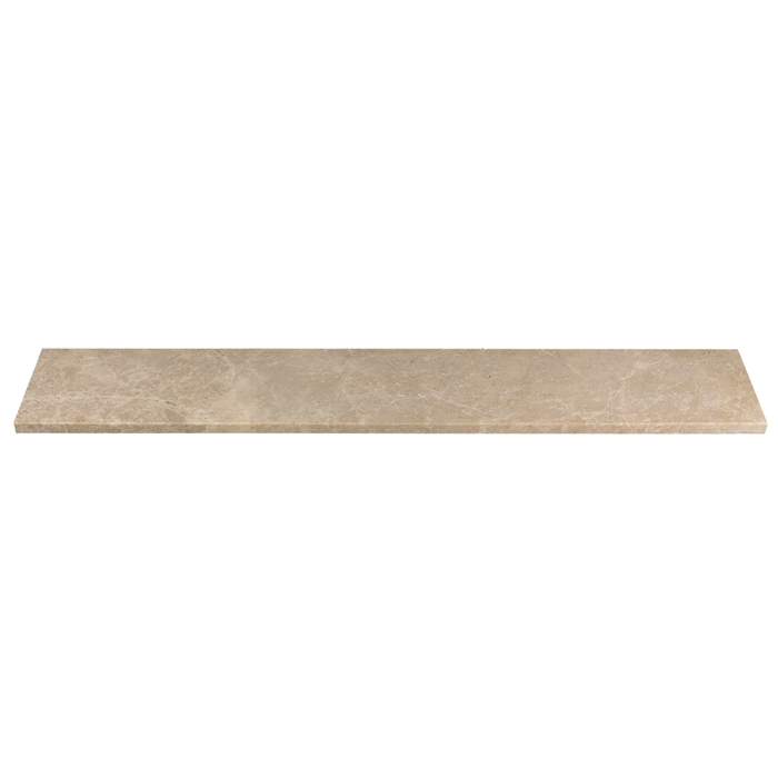 "Light Emparador Marble Window Sill Honed / 56"" x 6"" x 3/4"" - DW TILE & STONE - Atlanta Marble Natural Stone Wholesale Stone Supplier"