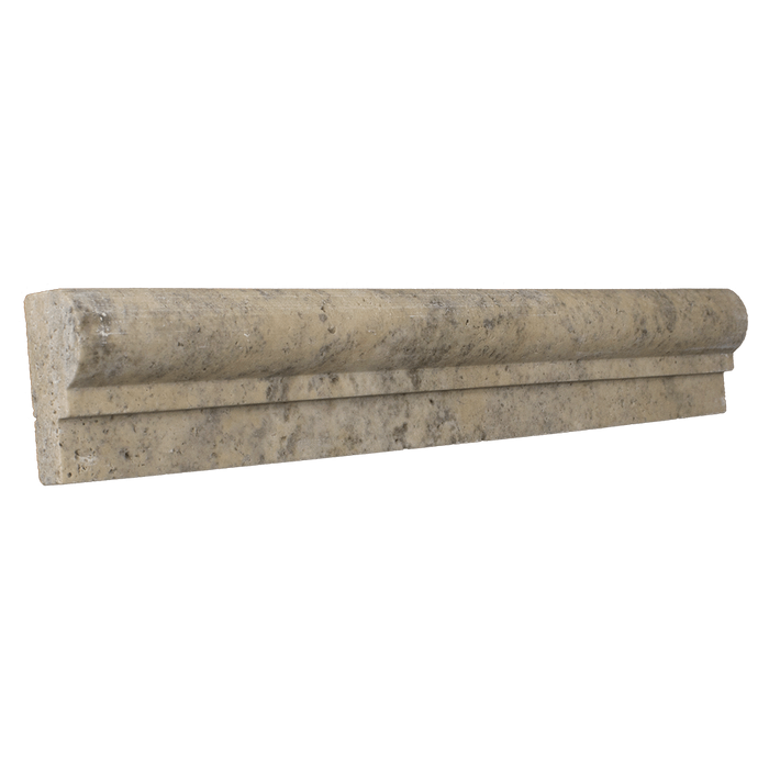 "Verona Travertine Cornice Tumbled / 1 7/8"" x 12"" x 1"" - DW TILE & STONE - Atlanta Marble Natural Stone Wholesale Stone Supplier"