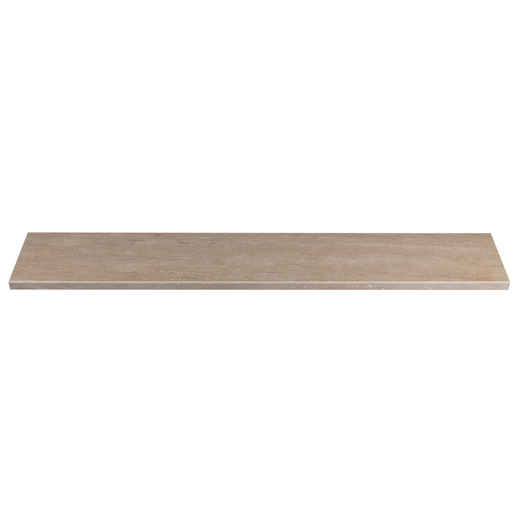 "Verona Travertine Window Sill - Honed Honed / 36"" x 6"" x 3/4"" - DW TILE & STONE - Atlanta Marble Natural Stone Wholesale Stone Supplier"