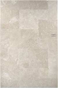"Assos Beige Marble Floor and Wall Tile Brushed - Chiseled / 16"" x 16"" - DW TILE & STONE - Atlanta Marble Natural Stone Wholesale Stone Supplier"