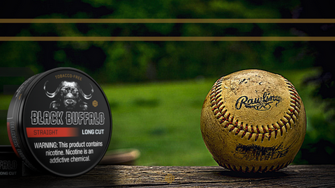 Black Buffalo Tobacco-Free Smokeless Alternative Baseball