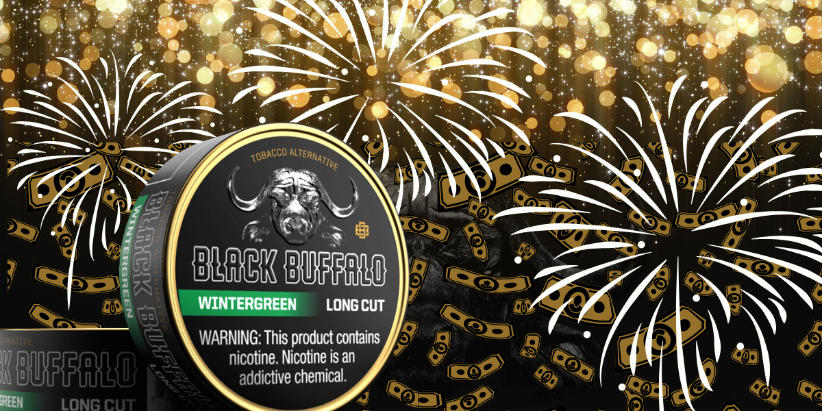 Tobacco Alternative Black Buffalo Cash Giveaway