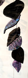 Black & Purple Iridescent, 38""