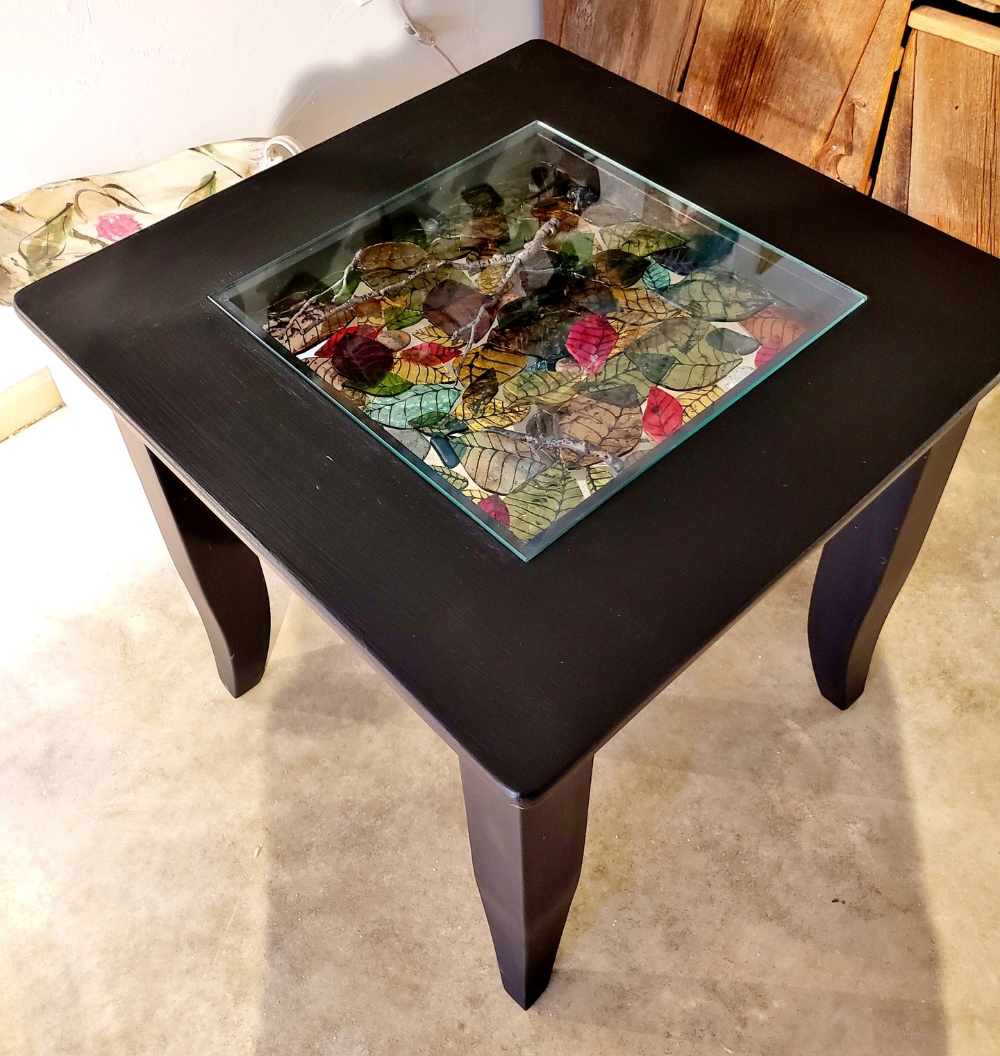 Autumn Leaf Coffee Side Tables