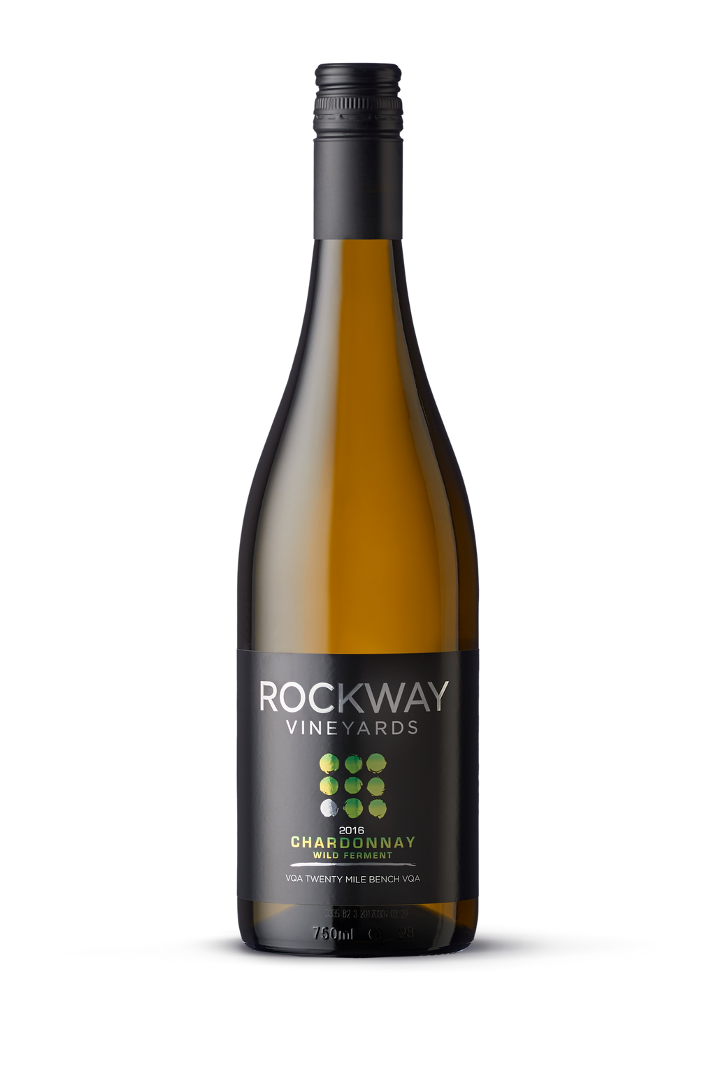 2016 Small Lot Wild Ferment Chardonnay-Gold Medal