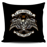 Biker Speed Junkie Skull Pillow Cover Series (FLASH OFFER) - Trendy Staples