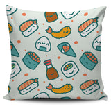 Japanese Cartoon Sushi Series 1 Pillow Cover - Trendy Staples