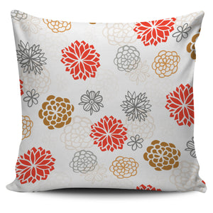 Japanese Hand-Drawn Floral Pattern Pillow Covers (FLASH OFFER) - Trendy Staples