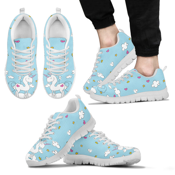 Blue Sky Unicorn Running Shoes - Trendy Staples