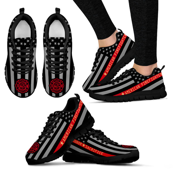 Firefighter Women's Sneakers - Trendy Staples