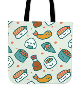 Japanese Cartoon Sushi Series 1 Tote Bag - Trendy Staples
